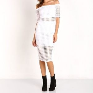 Laser Cut Skirt by K&K